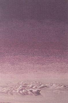 Inyul Heo ..Korean weaver ..Clouds   American Tapestry Alliance