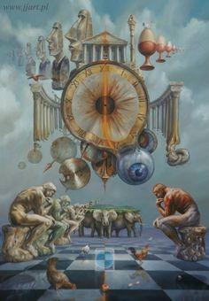 Jarosław Jaśnikowski philosophers Clock Surreal Fantasy Digital manipulation https://www.facebook.com/JaroslawJasnikowski/photos/pb.180051582048391.-2207520000.1453163082./559819797404899/?type=3
