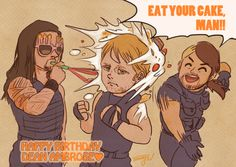 Dean Ambrose's Birthday by Tamayo423 on DeviantArt