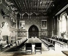 Eaton Hall.. Eaton.. Cheshire Victorian Hall, Victorian Castle, Eaton Hall, Cair Paravel, Regency House, Life In The Uk, Hall House, English Interior, King's Landing