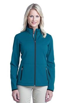 Port Authority® L222 Ladies Pique Fleece Jacket #portauthority #outerwear #fleecejacket