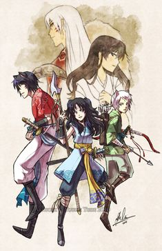 Heirs to the West by YoukaiYume on DeviantArt