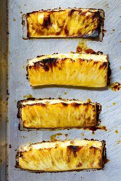 Roasted Pineapple Mezcal Margaritas - Evan Kalman