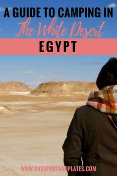 Traveling to Egypt? Be sure to add camping in the White Desert to your itinerary! This guide includes everything you need to know about camping in the White Desert in Egypt including where to go, how to get around and how to book a tour. Click to read!  #Egypt #EgyptTravel #AfricaTravel #EgyptItinerary #EgyptCamping #WhiteDesert #EgyptDesert #DesertCamping