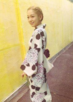 Kana Nishino blog  浴衣姿