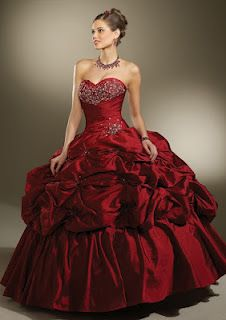 I ain't too sure about a red dress ? What about you guys ?