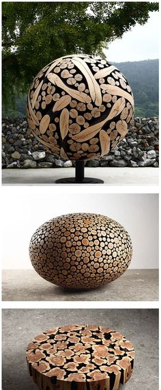 Wood Art by Jae-Hyo Lee