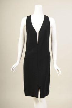 Geoffrey Beene Plastic & Wool Dress