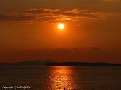 Sunset in Corfu, Arilas, Peloponnese Western Greece, Ionian Island_ Greece