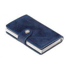 Secrid kortholder i en flot blå farver - miniwallet Vintage Blue