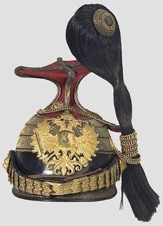 (Major, Oberstleutnant, Oberst) des Ulanen-Regiments Nr.3. A czapka for staff officers (Major, Lieutenant Colonel, Colonel) of the Uhlan Regiment No. 3.