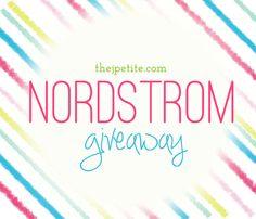 J.Petite: Nordstrom Giveaway