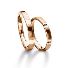 Furrer Jacot Magiques in red gold 3.00mm
