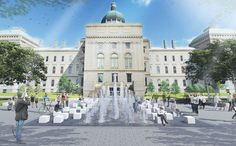 Designs unveiled for Indiana`s Bicentennial Plaza