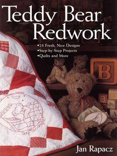 Teddy Bear Redwork - Ludmila2 Krivun - Álbumes web de Picasa