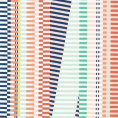 Rave On- Voile Organic Cotton Fabric - Let's Have a Party! - Avril Loreti for Cloud9