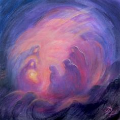 Immagine Christmas Art, Art Painting, Spiritual Art, Spiritual Artwork, Jesus Art, Bible Art, Lds Art, Art Icon, Sacred Art