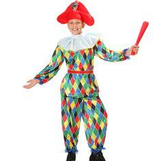 Guarda tutte le immagini del Costume di Carnevale di Arlecchino www.bambinievacanze.com