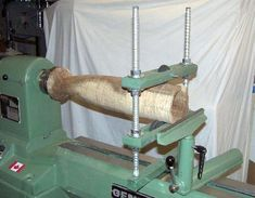 wood lathe steady rest
