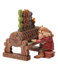 Love this Jim Shore Grumpy Playing the Organ Figurine by Jim Shore on #zulily! #zulilyfinds
