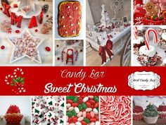 """Candy Bar """"Sweet Christmas"""" by Hard Candy Shop Shops, Candy Shop, Hard Candy, Bar, Sweet, Table, Christmas, Candy, Xmas"""