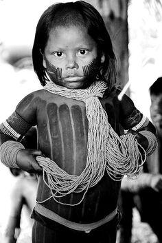 Kayapo child.