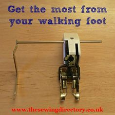 Different ways to use your walking foot