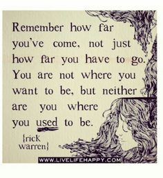 Don't go back. Move forward