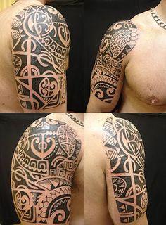 Fotos de Tatuagens: Manga Maori