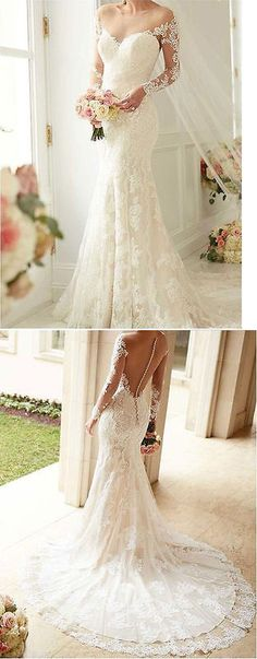 Wedding Dresses: White Ivory Lace Wedding Dress Bridal Gown Custom Size : 4 6 8 10 12 14 16 18+++ -> BUY IT NOW ONLY: $101.7 on eBay!