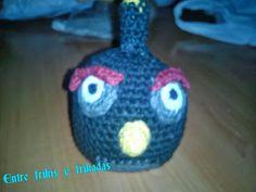 Angry bird negro que hice para mi sobrinillo
