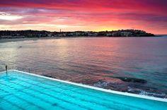 Bondi next vacay The Sound Of Waves, Ocean Sounds, Bondi Beach, Lifeguard, Im In Love, Sunscreen, Serenity, Beautiful Places, World