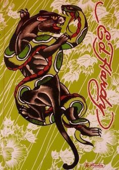 Panther Snake by Ed Hardy