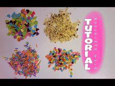AZUCAR FALSA paraヽ(^。^)丿 tus creaciones de porcelana fria - YouTube