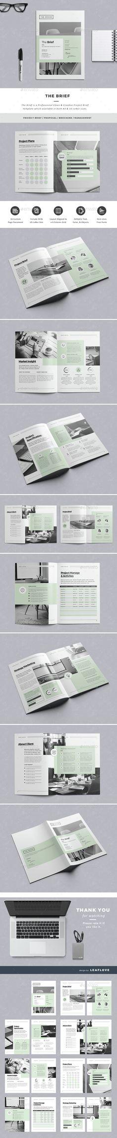 The Brief - Informational Brochures