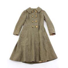vintage wool winter coat