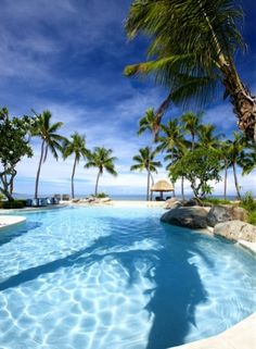 Sheraton Fiji Resort Adults Pool #fiji #adultspool #happiness