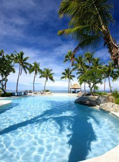 Sheraton Fiji Resort Adults Pool #fiji #adultspool #happiness