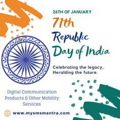 Be the change you wish to see in this world. Be a Leader. Make the Difference. Wishing you a very Happy Republic Day Republic Day, Media Marketing, Happy, Change, Text Posts, Ser Feliz, Being Happy