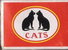 2 cats matchbox label | India, 2009