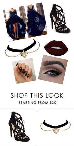 """Kuma"" by uniduckface on Polyvore featuring Jessica Simpson and Lime Crime"