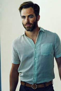 The Chris Pine Network - ELLE Magazine Photoshoot