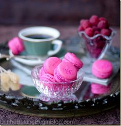 Raspberry Macarons - Let the Baking Begin! Let the Baking Begin!