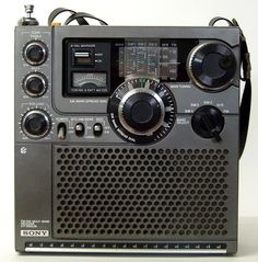 Shortwave Receiver Sony ICF-5900 W