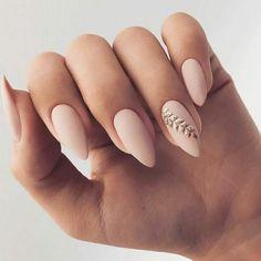 Simple Wedding Nails, Wedding Nails Design, Trendy Nail Art, Stylish Nails, Trendy Nails 2019, Matte Nail Art, Nagellack Design, Nagel Gel, Nail Decorations
