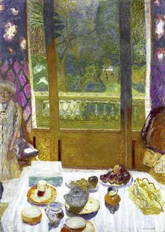 Pierre Bonnard - Dining Room and Garden