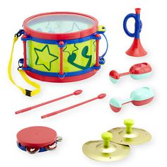 "Bruin Big Band 9 Piece Instrument Set - Toys R Us - Toys ""R"" Us"