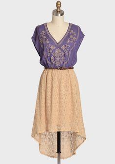 Endless Summer Embroidered Dress