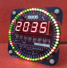 Digital led #electronic time #clock+temperature+date display diy kit high #qualit, View more on the LINK: http://www.zeppy.io/product/gb/2/301554473109/