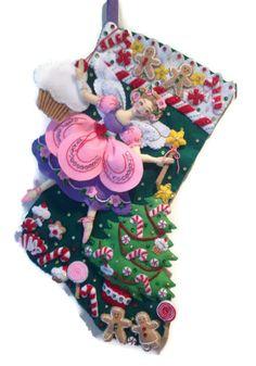 Bucilla sugar plum fairy stocking
